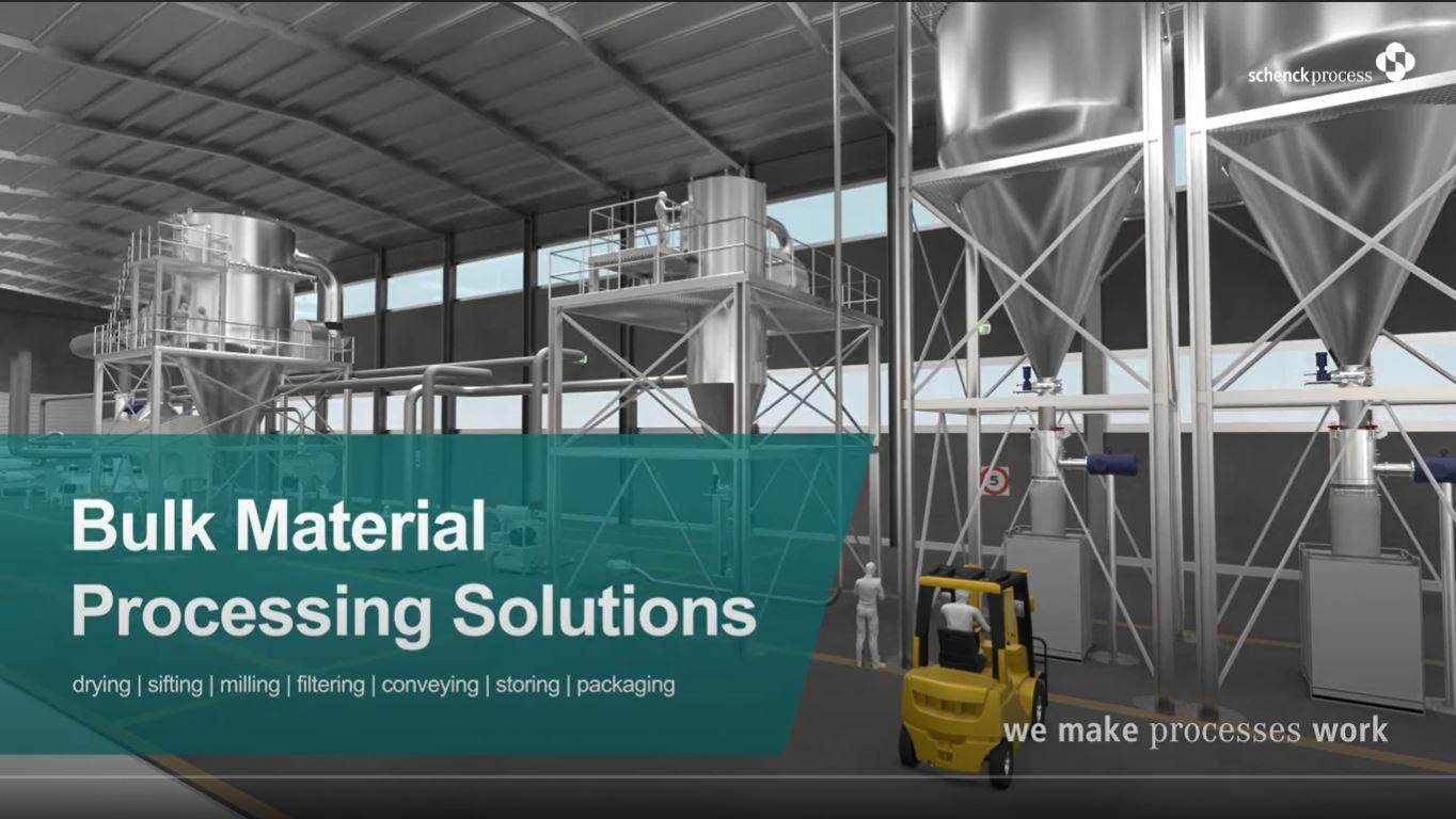 Bulk Material Processing Video Static Screen