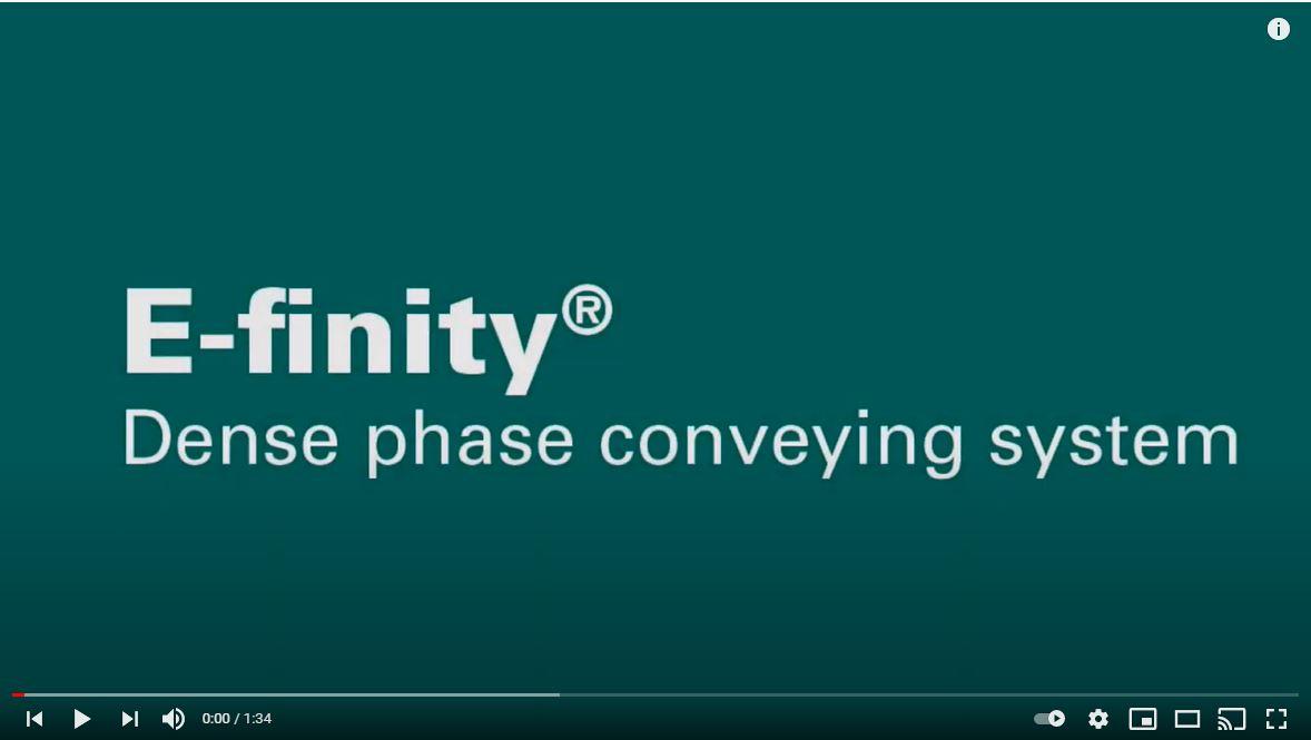 DENSE PHASE CONVEYING SYSTEM EFINITY