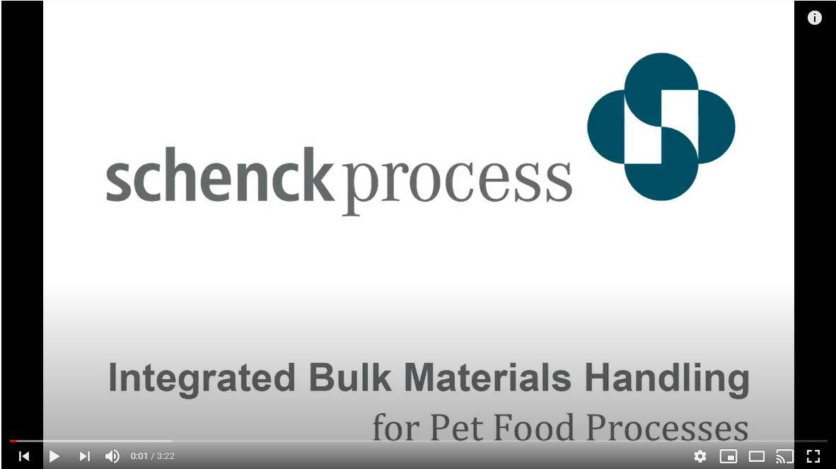 MATERIALS HANDLING PET FOOD PROCESSES