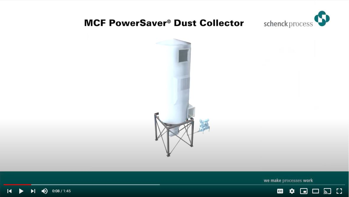 MCF POWERSAVER DUST COLLECTOR