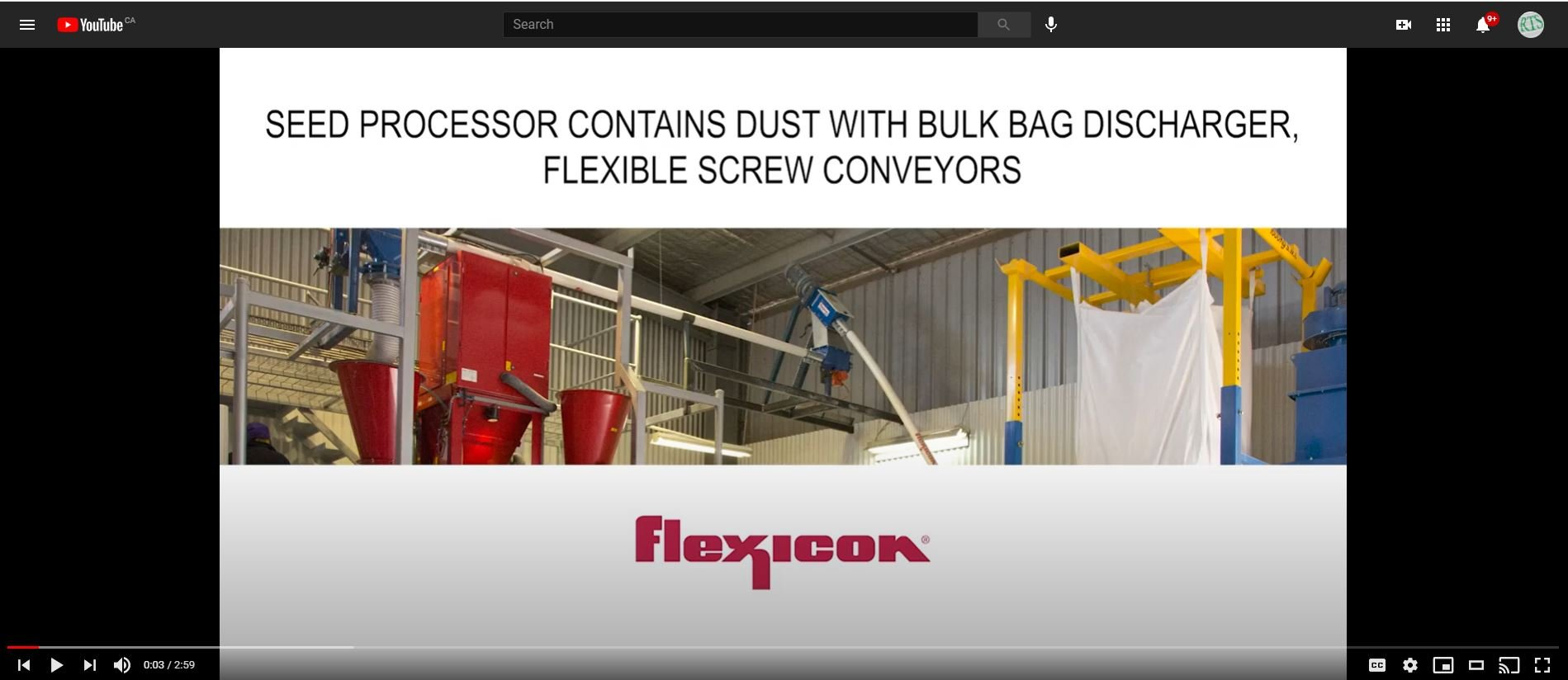 Seed Processor Contains Dust with Bulk Bag Discharger Flexible Screw Conveyors Static Screen