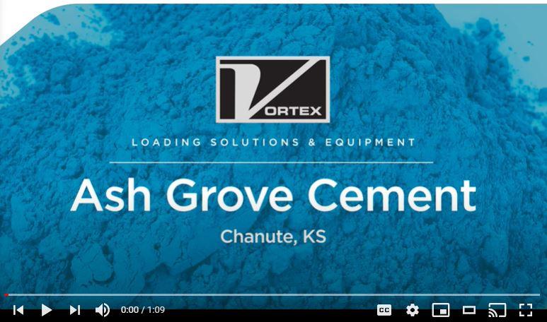 VORTEX Loading Spout Handling Cement